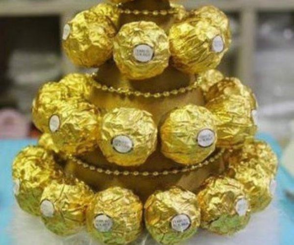 елка из конфет5