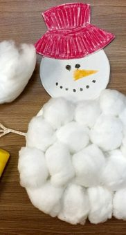 снеговик поделка7jpg
