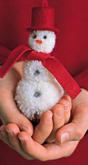снеговик поделка81