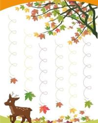 обводилки осенние листья