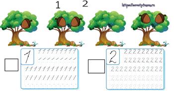 Задания для детей 4-5 лет «Как живут белки»